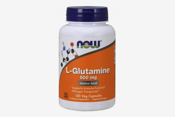NOW L-Glutamine 500 mg,120 Capsules