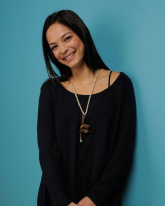 Actress Kristin Kreuk poses for a portrait during the 2011 Sundance Film Festival