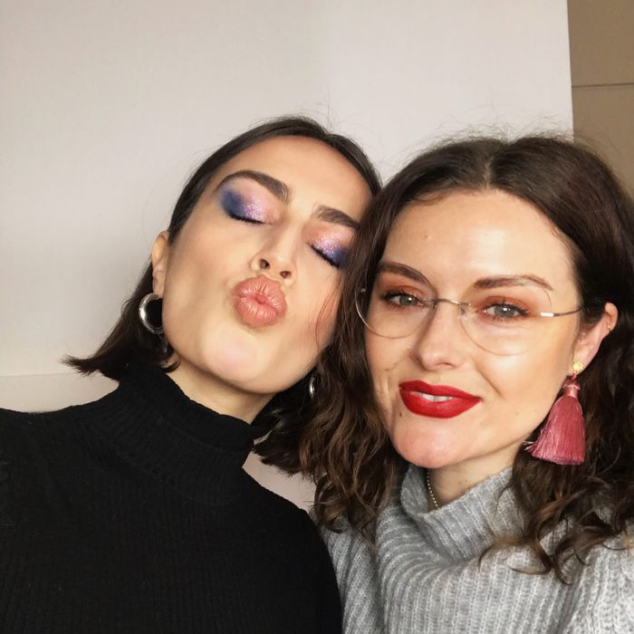 If clean, glowy skin and a statement eye is your thing, you've likely already heard of makeup artist Katie Jane Hughes. If you haven't, sprint, full speed, ...