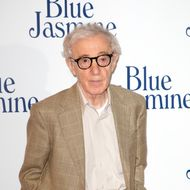 "PARIS, FRANCE - AUGUST 27: Director Woody Allen attends the ""Blue Jasmine"" Paris premiere at UGC Cine Cite Bercy on August 27, 2013 in Paris, France.  (Photo by Marc Piasecki/WireImage)"