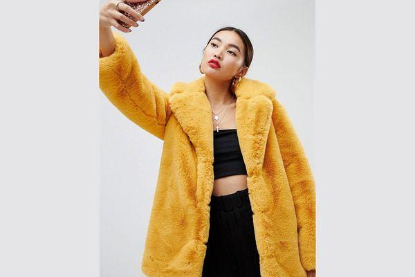 Asos Mustard Coat