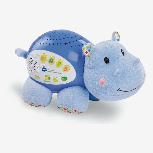 VTech Baby Lil' Critters Soothing Starlight Hippo, Blue