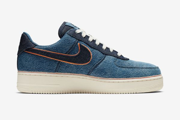 3X1 Nike Air Force 1 in Stonewash Blue Selvedge