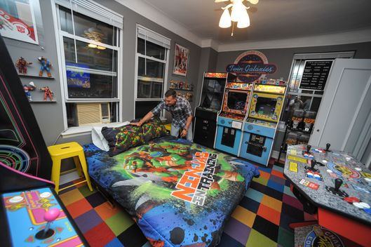 Man creates video game bedroom kills sex life the cut - New york girls room ...