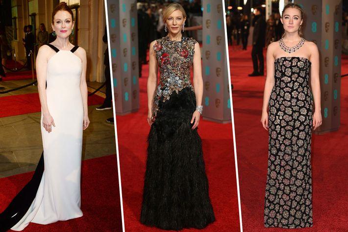 Julianne Moore, Cate Blanchett, Saoirse Ronan.