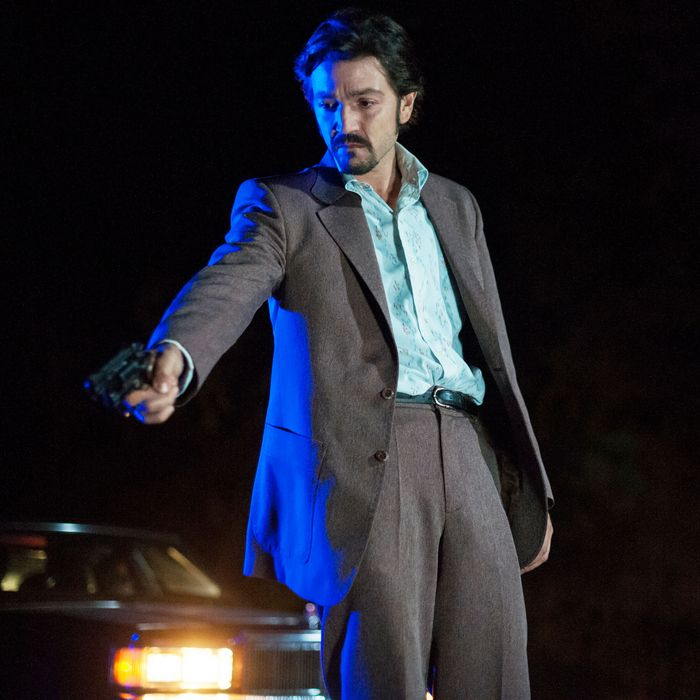 Diego Luna in Netflix's Narcos: Mexico.