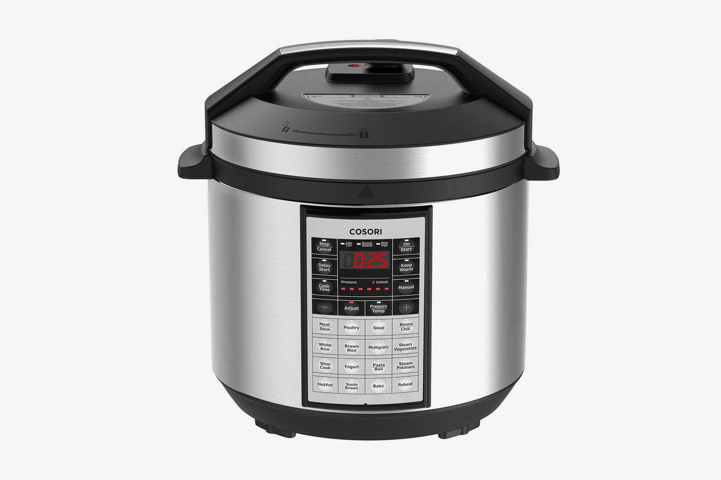 Cosori 6 Quart 8-in-1 Multi-Functional Programmable Pressure Cooker