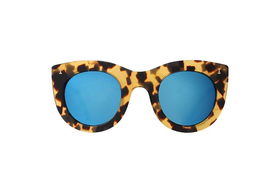 Illesteva Boca Honey tortoise sunglasses