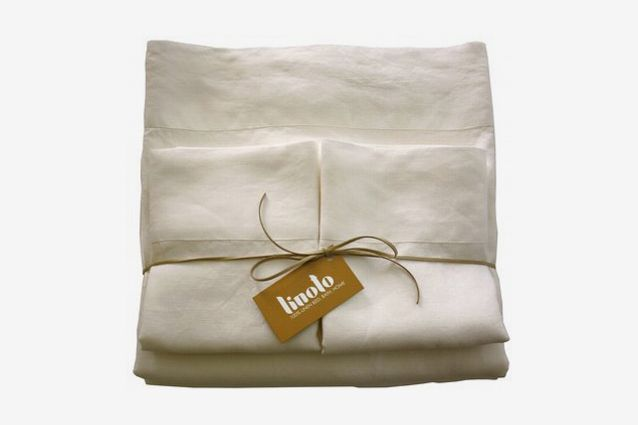 Linoto Luxurious Pure Linen Bed Sheet Set