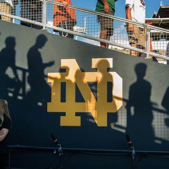 NCAA FOOTBALL: SEP 05 Texas at Notre Dame