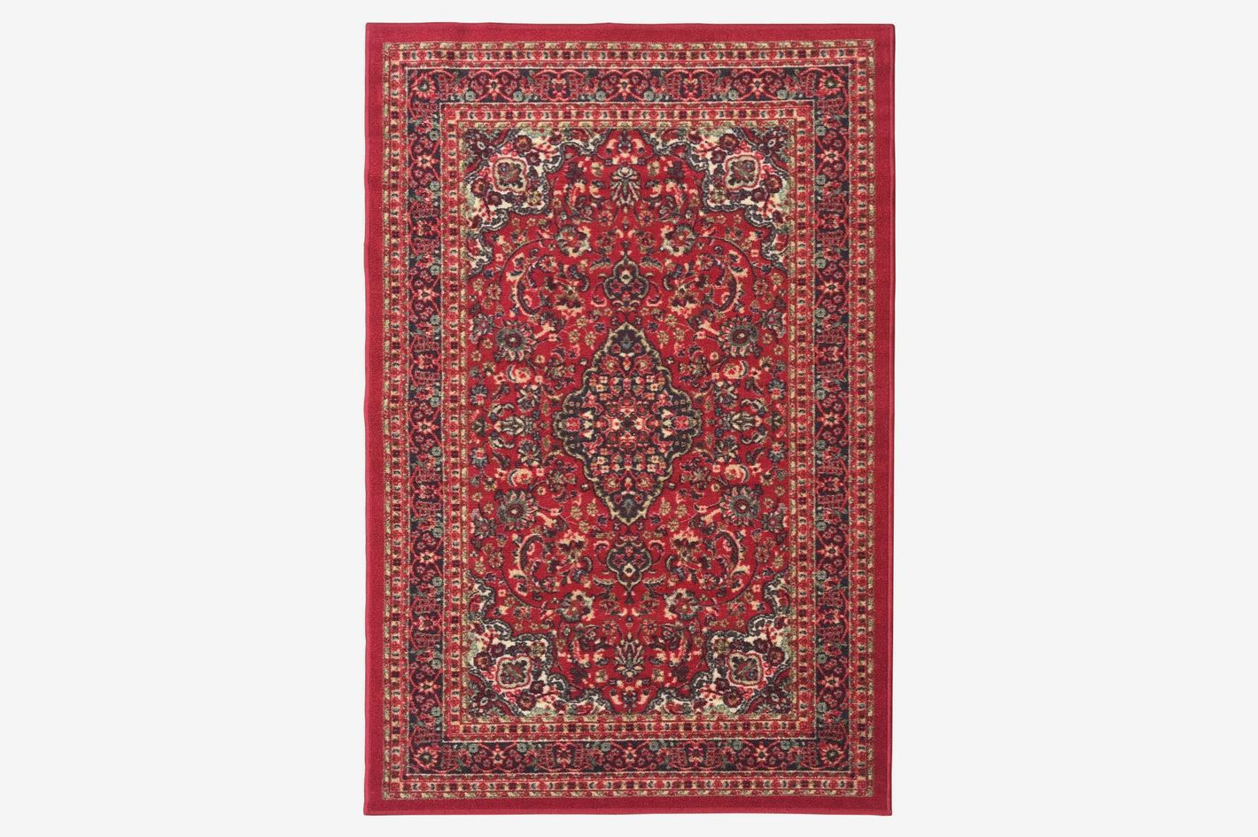 """Ottomanson Ottohome Persian Heriz Oriental Design, 60"""" L x 78"""" W"""