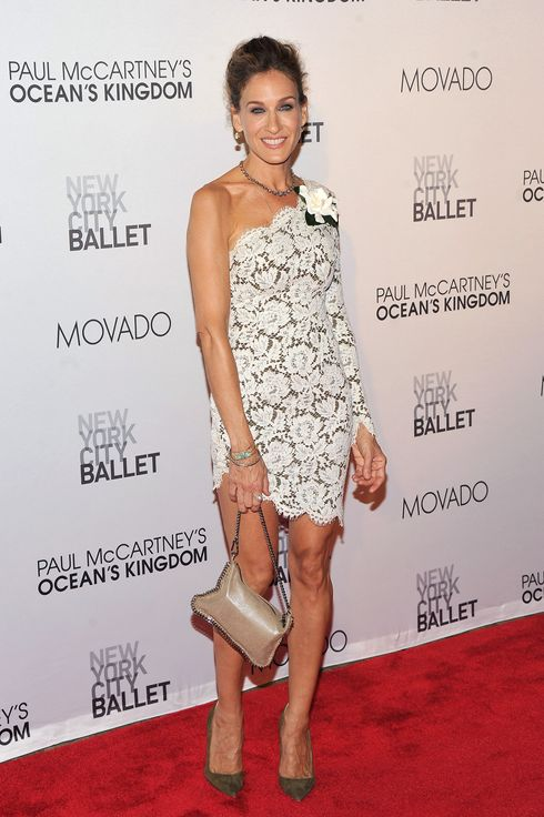 NEW YORK, NY - SEPTEMBER 22:  Actress Sarah Jessica Parker attends the 2011 New York City Ballet Fall Gala at the David Koch Theatre at Lincoln Center on September 22, 2011 in New York City.  (Photo by Stephen Lovekin/Getty Images)