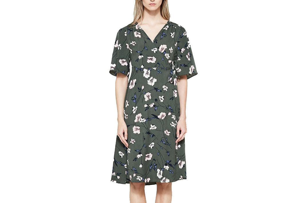 Farrow Loretta wrap dress