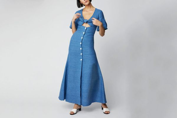 Alexis Jameela Linen Maxi Dress