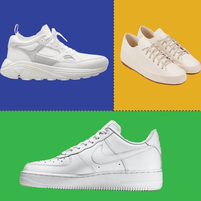 5c41b97b3323e ... you know that one of the most enduring favorites of the fashion set is  the white sneaker  It s far more comfortable than heels and ...