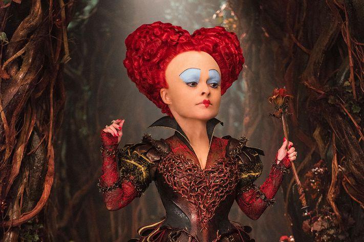 Helena Bonham Carter in <i>Alice Through the Looking Glass</i>.