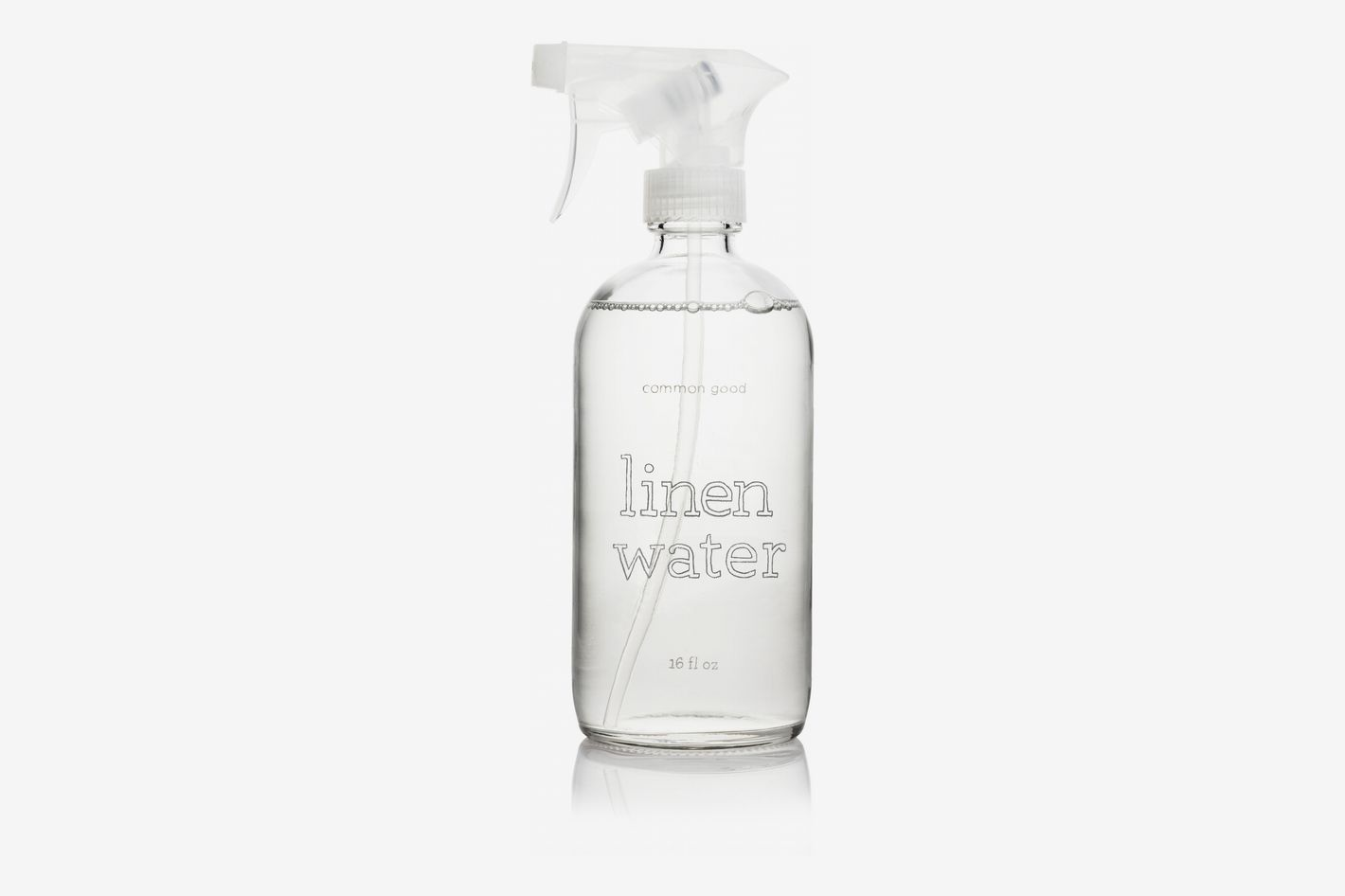 Common Good Linen Water Glass Bottle, Lavender