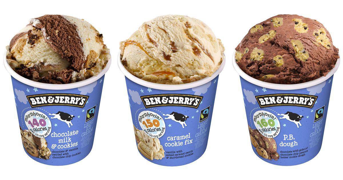 Ben Jerrys Debuts Halo Top Like Low Calorie Ice Cream