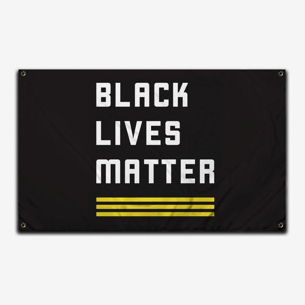 Official Black Lives Matter Logo Flag