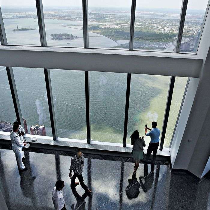 What You Re Really Seeing From The 100th Floor Of One