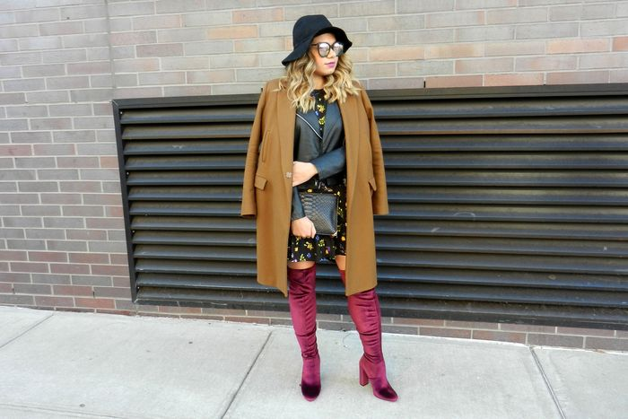 5d47350abbe How she wears her boots  Most of the pairs that I own are from Steve Madden  because of their great prices