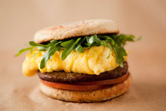 Egg & Turkey Sausage Sandwich