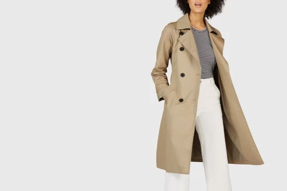 feda170dcbd The Drape Trench Coat