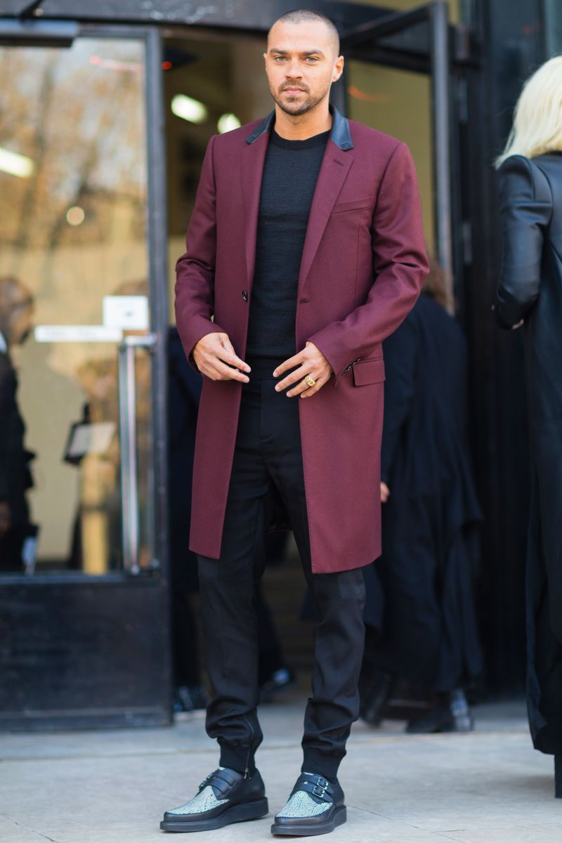 Jesse Williams See All The Best Looks From Fashion Week Paris Men 39 S The Cut