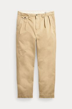 Polo Ralph Lauren Relaxed-Fit Pleated Twill Pant