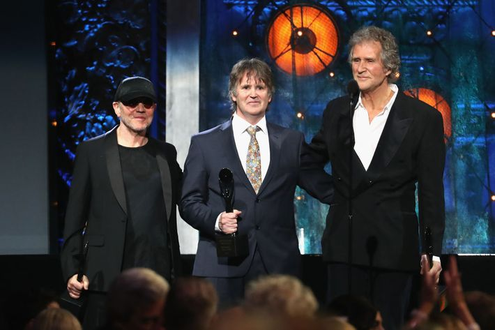 Image result for 2018 rock and roll hall of fame dire straits