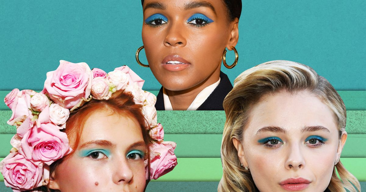 Why Are Everyone's Eyelids Teal?