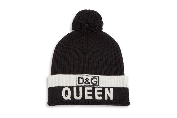 Dolce & Gabbana Queen Ribbed Beanie