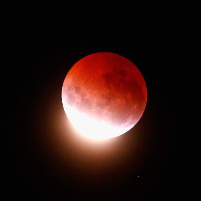 A Super Blood Moon.