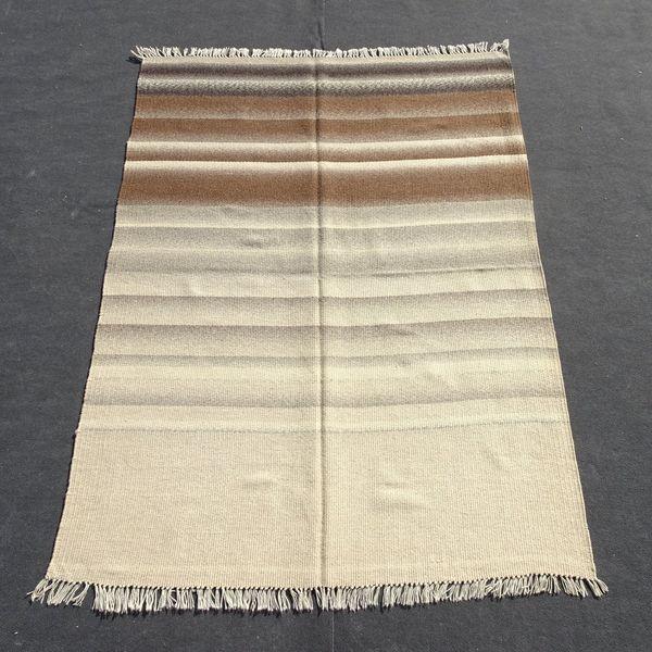Katre Kilim Stripe Turkish Kilim Rug