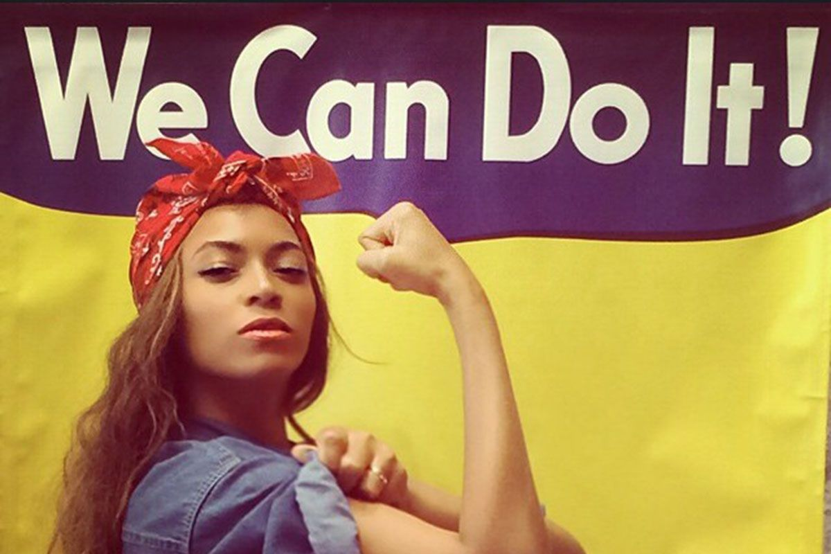 """beyonce feminism Making headlines when it was launched in 2015, omise'eke natasha tinsley's undergraduate course """"beyoncé feminism, rihanna womanism"""" has inspired students from all walks of life."""