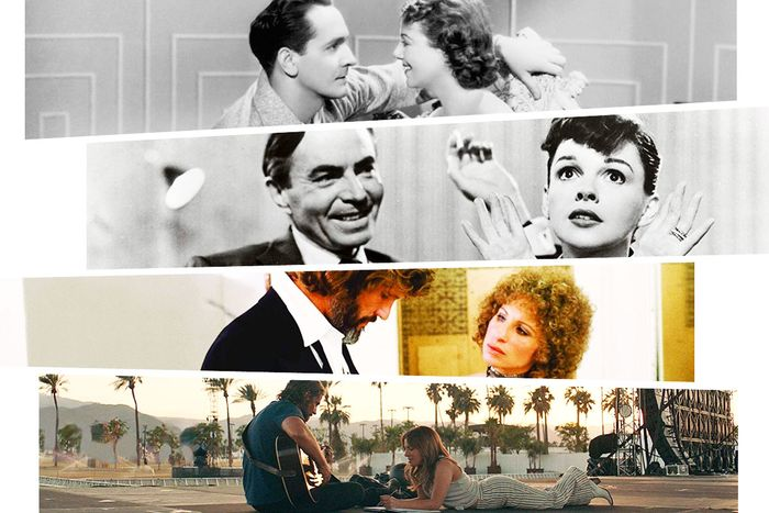 Star is Born Bradley Cooper Lady Gaga Judy Garland Barbra Streisand