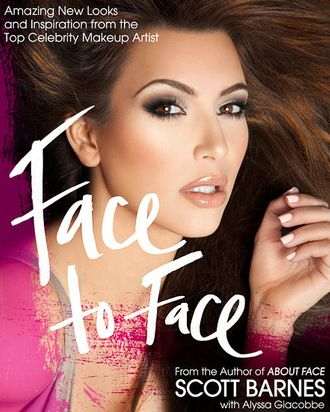 Kim Kardashian on the cover of <em>Face to Face</em>.