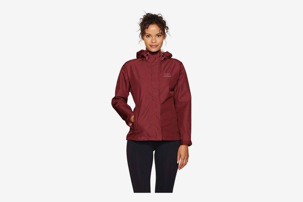 Helly Hansen Women's Seven J Waterproof, Windproof, and Breathable Rain Jacket