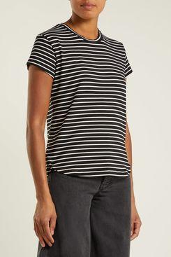 Frame Striped Short-Sleeve T-shirt