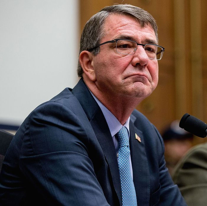 Defense Secretary Ashton B. Carter.