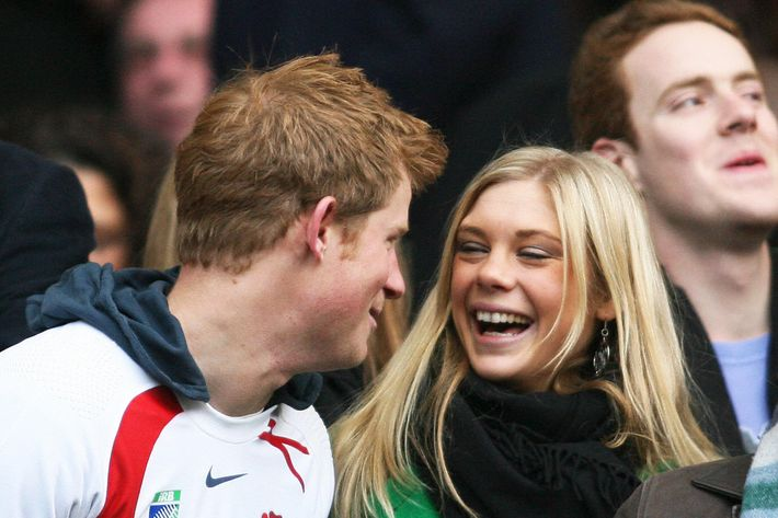 Prince Harry and Chelsy Davy in 2008.