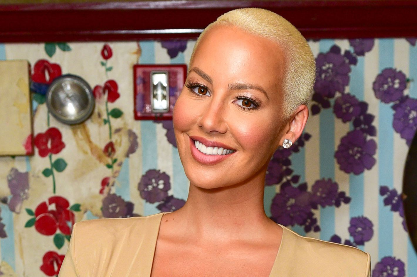 Amber rose talks about her beauty routine and donald trump urmus Images