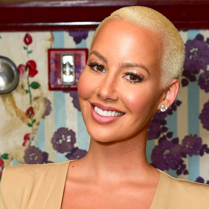 brand new f3202 67efe Amber Rose on Cellulite, Confidence, and Donald Trump