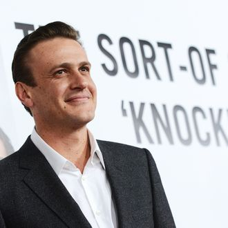 HOLLYWOOD, CA - DECEMBER 12: Actor Jason Segel attends the premiere of Universal Pictures'
