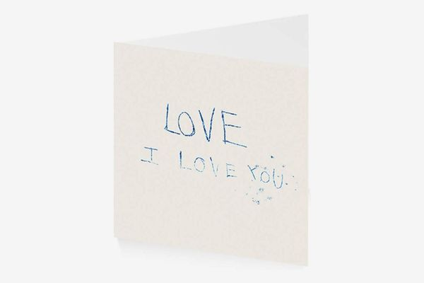 Royal Academy Tracey Emin Love I Love You Art Greeting Card