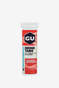Gu Energy Hydration Electrolyte Drink Tablets, Strawberry Lemonade