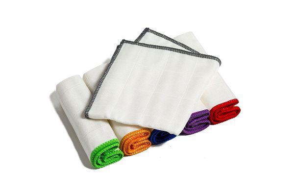 Bondre Non-Stick Oil Lightweight Bamboo Fiber Wash Towels