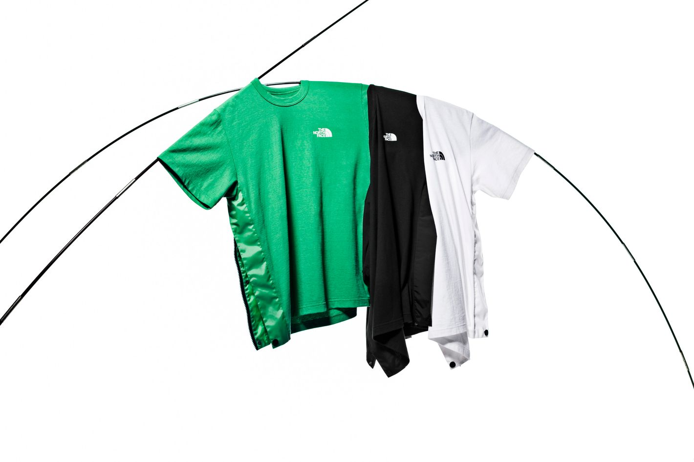 Sacai x The North Face Side Zip T-Shirt