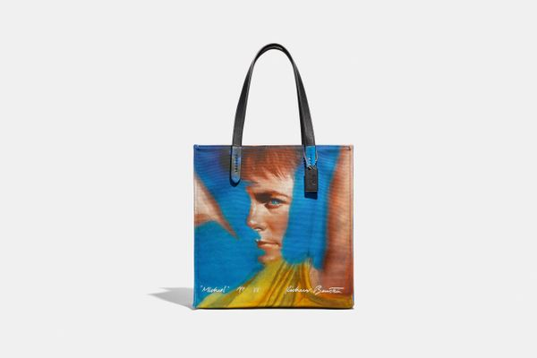 Coach x Richard Bernstein Tote With Michael J. Fox