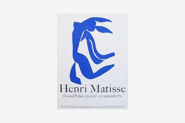 Henri Matisse 1970 Vintage Poster